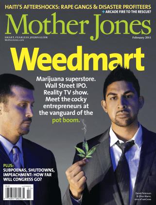 Mother Jones January/February 2011 Issue