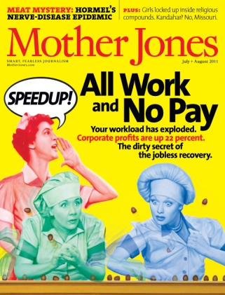 Mother Jones July/August 2011 Issue
