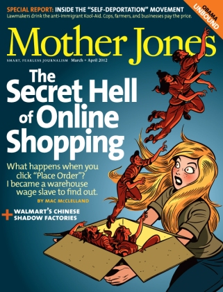 Mother Jones Mar/April 2012 Issue