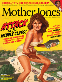 Mother Jones November/December 2010 Issue