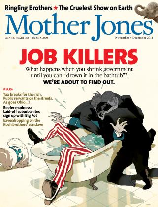 Mother Jones November/December 2011 Issue