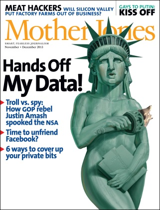 Mother Jones Nov/Dec 2013 Issue