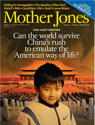 Mother Jones January/February 2008 Issue
