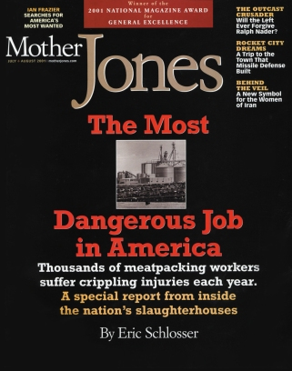Mother Jones July/August 2001 Issue