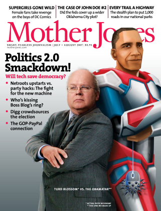 Mother Jones July/August 2007 Issue
