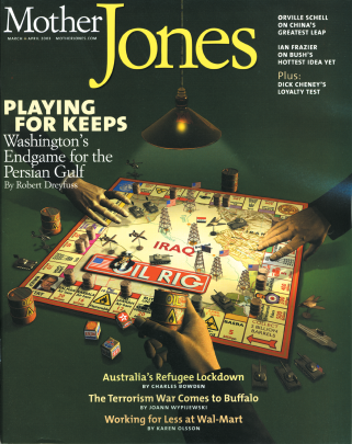 Mother Jones March/April 2003 Issue