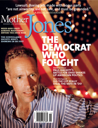 Mother Jones November 2005 Issue