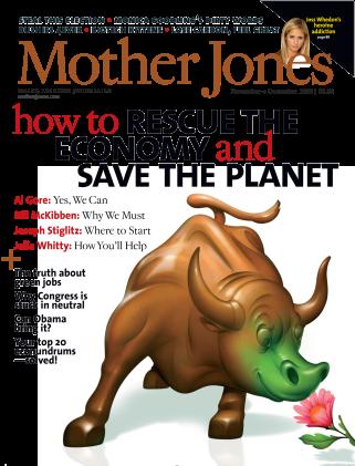Mother Jones November/December 2008 Issue