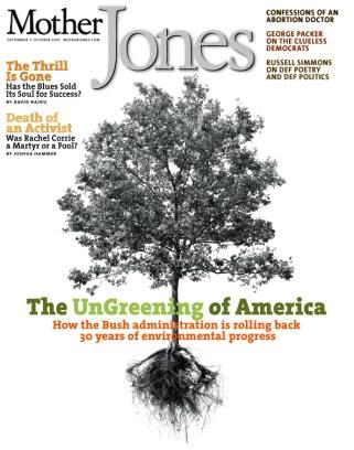 Mother Jones September/October 2003 Issue