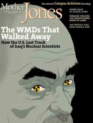 Mother Jones September/October 2005 Issue