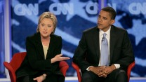 Clinton debates Obama