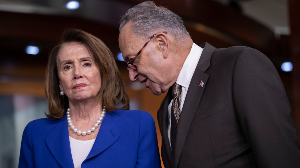 Pelosi and Schumer