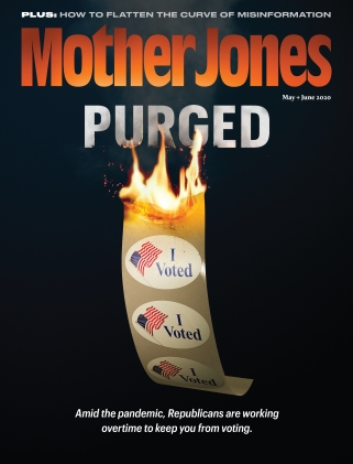 Mother Jones May/June 2020 Issue
