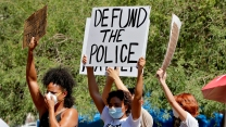 Protesters in Pheonix call to defund the police