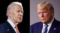 Biden and Trump headshots