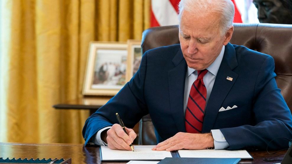 Biden signs executive order