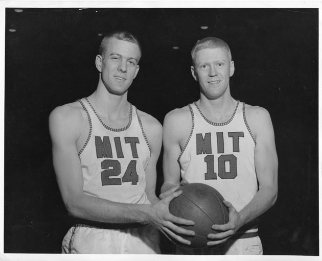 Charles and Bill Koch MIT basketball