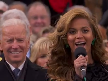 joe biden beyonce knowles