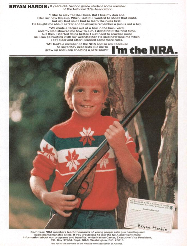 i'm the NRA