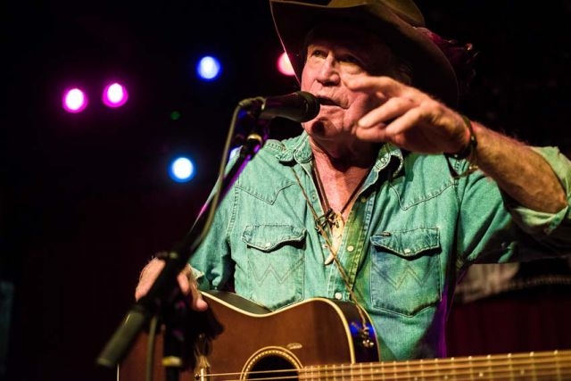 Billy Joe Shaver performs at the Mercy Lounge - The 13th Americana Music Festival and Conference, September 12-15, 2012, Nashville, TN