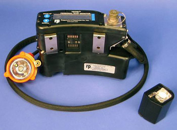 The Mine Safety and Health Administration has proposed that miners wear continuous personal dust monitors like this one. Photo by Centers for Disease Control