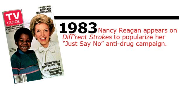 Nancy Reagan on Different Strokes