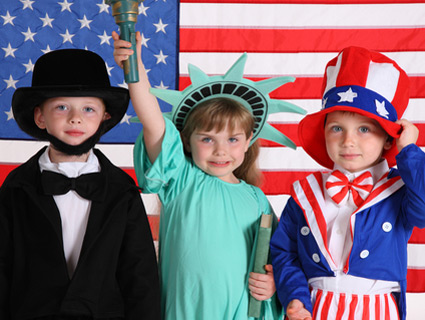 Obama supporters. /Shutterstock