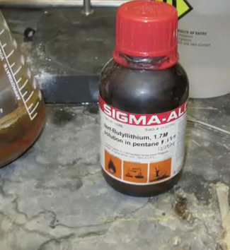 The bottle Sangji was using during the accident CPI