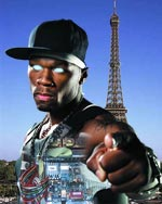 50 Cent as French Robot