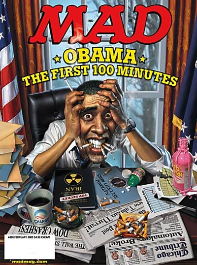 Mad Magazine Barack Obama