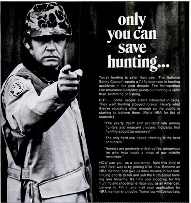 only you can save hunting