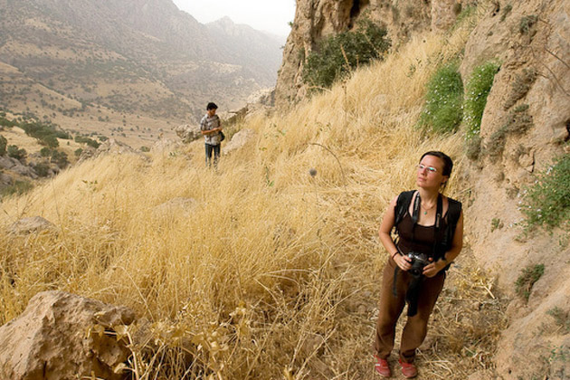 Sarah hiking